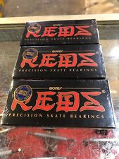 Bones Reds Skateboard Bearings 8-Pack 8mm Precision Size 608 Free Shipping