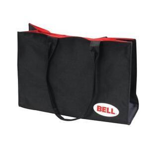 BELL RACING TRACK BAG Tote Travel Ladies Large Trackside Day Bag Black w Red NEW