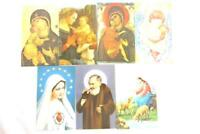 Lot of 33 Mignon Mini Holy Prayer Cards Assorted Made In Italy EDGMI