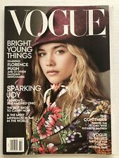VOGUE Magazine February 2020 Bright Young Things starring Florence Pugh