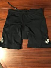 """SUGOI Shorts Cycling/Bicycle Shorts Women's Small Black Padded 6"""" Inseam"""