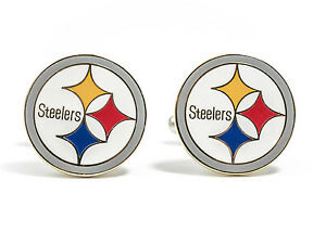 Pittsburgh Steelers Cufflinks NFL Football