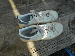ADIDAS CUIR VINTAGE STAN SMITH GRISES COLLECTOR BE T 38 2/3  A 19€ FP COMP MOND