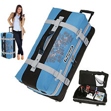 Reisetasche Trolley Elephant 80 XXL Koffer Reisegepäck Rollen Damen 12356 Blau
