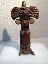Antique Standing Clay Mayan Flute