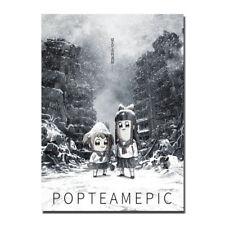 Poputepipikku Pop Team Epic Anime Art Silk Poster 13x18 inch