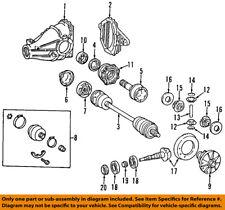 differentials parts for mercedes benz 500sl ebay. Black Bedroom Furniture Sets. Home Design Ideas