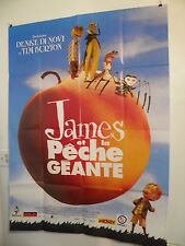 JAMES AND THE GIANT PEACH LARGE FRENCH MOVIE POSTER ROALD DAHL 1996