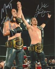 Young Bucks (Matt & Nick Jackson) Autographed 8x10 - In Ring