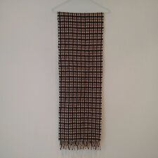 AQUASCUTUM London Classic 'Club Check' Lambswool Winter Scarf ONE SIZE