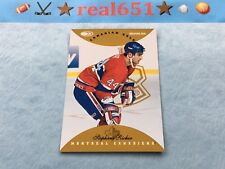 1996 Donruss Canadian Ice Gold #98 STEPHANE RICHER 1/150 | Montreal Canadiens