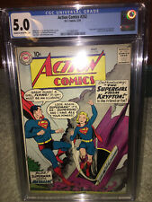 Action Comics #252 CGC 5.0 DC 1959 1st Supergirl! 1st Metallo Superman K7 121 cm