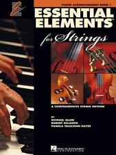 Essential Elements 2000 for Strings - Book 1: Piano Accompaniment (Essential Ele