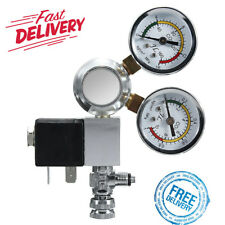 Aquarium Dual Gauge CO2 System Pressure Regulator With Bubble Counter Box 110V ‼