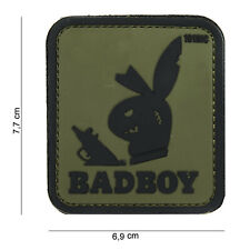 Badboy grün Patch Klett Airsoft Paintball Tactical