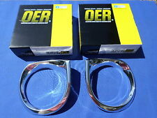 NEW 1962-64 Chevrolet Chevy II Nova Headlamp Bezels Pair OER Parts GM Licensed