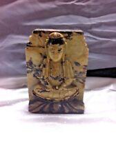 Antique Jasper Nepalese Temple Statue Buddah