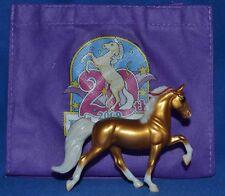 Breyer~Breyerfest~2009~FunFetti~Gold Charm Tennessee Walker~Sm~Stablemate~LT 600