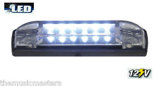 "WHITE 4"" Car Boat RV 6 LED LIGHT STRIP Waterproof 12V Marine Accent Lighting"