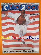 rivista CIAO 2001 48/1990 POSTER Elton John Steve Winwood Mink De Ville * No cd