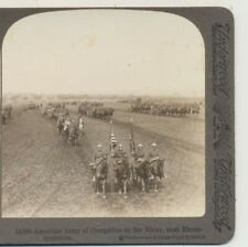 American Army Occupation on Rhine Ehrenbreitstein Germany WWI Stereoview c1915