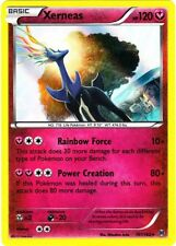1x Pokemon XY BREAKthrough Xerneas 107/162 Holo Rare Card