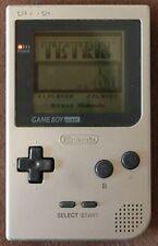 Nintendo Game Boy Pocket Handheld Spielkonsole - Silber - mit TETRIS