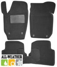 All Weather Floor Liner Velour Carmats Rubber Backing Fit Skoda Fabia II 2007-13