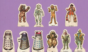 RARE: Weetabix Doctor Who cards, 1975.  Choose yours!