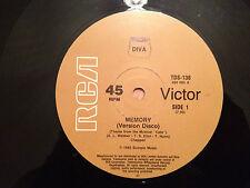 "DIVA - MEMORY (Theme from ""CATS"") 80's DISCO version - 1983 Aus 12"" Vinyl - VG+"