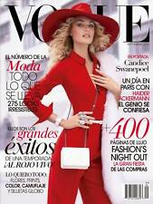 Vogue Mexico,September 2013,Candice Swanepoel Victoria's Secret ,Valentino NEW