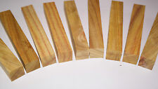 PENBLANKS 15 Piece Canary Wood Woodturning precious craft Jewelry