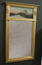 TRUMEAU  MIRROR ~ For FRENCH  FASHION  DOLL  ~  Landscape ~ Handcrafted