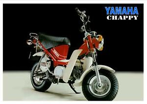 YAMAHA Poster Chappy LB80 and LB50 Suitable to Frame 2
