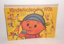 Kinderkalender 1976 Deutsches Hygiene Museum Dresden DDR !