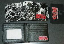 The Walking Dead TV Series Charlie Splash Zombies Bi-Fold Wallet, NEW UNUSED