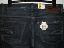 G-Star raw 3301 tapered fit selvedge jeans W36 L32