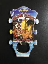 Hard Rock Cafe HONG KONG Bottle Opener Guitar Magnet.
