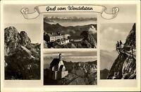 Wendelstein Bayern s/w Mehrbildkarte ~1940 mit Stempel der Wendelsteinbahn
