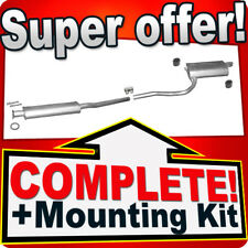 Toyota Avensis T22 1.6 1.8 2.0 2000-2003 Silencer Exhaust System N62