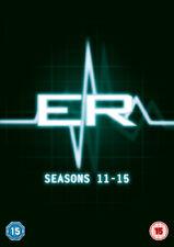 ER: Seasons 11-15 DVD (2016) Sherry Stringfield cert 15 5 discs ***NEW***
