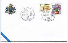 1992-12-30 San Marino Faetano ANNULLO SPECIALE Cover