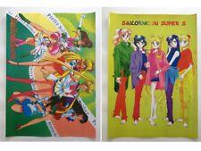 Sailor Moon Chibimoon Jupiter Mercury Venus Anime Set of 2 Poster Rare New Lot