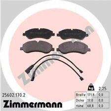 1x Bremsbelagsatz  Scheibenbremse ZIMMERMANN 25602.170.2