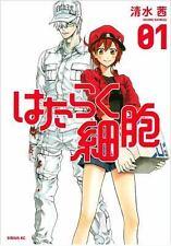 Cells at Work! 1, Paperback by Shimizu, Akane LN FREE SHIP ENGLISH