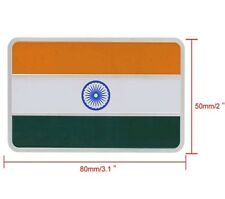 3D Laxury Indian Flag Logo Emblem Badge Sticker Decals for Car Motorbike Home