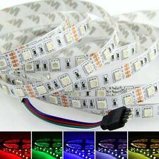 1M 5M 10M 20M 5050 RGB Color 60LEDs/M Flexible LED Light Strip DC 12V