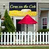 Vinyl Banner Sign Corn On The Cob #1 sweet corn Marketing Advertising yellow