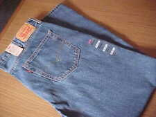 Levi's 550 Relaxed Fit Tapered Leg Sz. 42X32 Men's Blue Jeans NWT. # 005504891