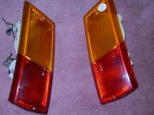 RENAULT 5 & LATE LeCar TAIL LIGHT COMPLETE  RIGHT SIDE OLD N.O.S. LEFT USED NICE